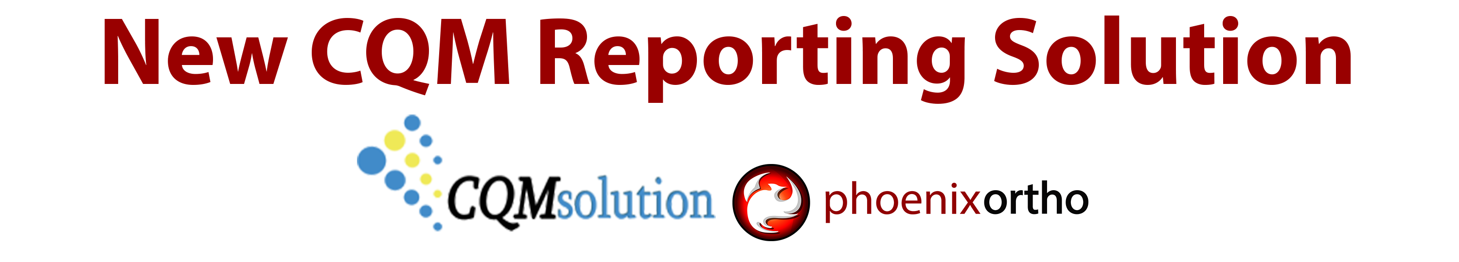 Blog news updates phoenixortho we have some exciting news if you have been attending our mips webinars then you have heard about our new cqm reporting solution xflitez Image collections